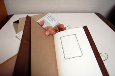 トラベラーズノートの写真・画像