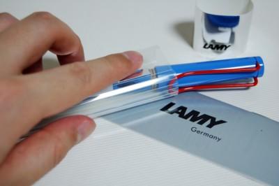 LAMY Safari 2006. Royal Blue (万年筆 限定カラー) サイズ M