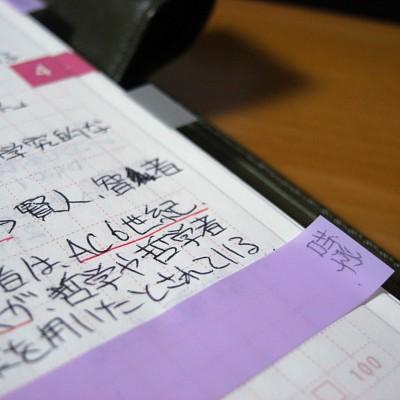 ほぼ日手帳 x 透明ふせんの写真