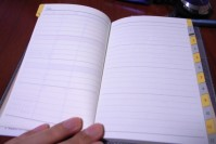 能率手帳 キャレル バーチカル(週間タイプ)の写真