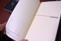 能率手帳 WIC7 2007 の写真