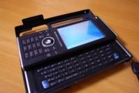 PDAIR アルミケース for W-ZERO3[es] の写真