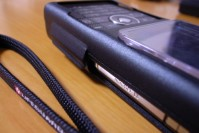 PDAIR アルミケース for W-ZERO3[es]の写真