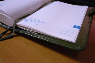 ほぼ日手帳2006年12月の写真