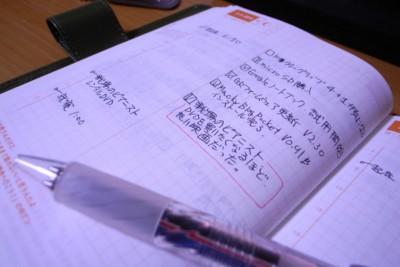 ほぼ日手帳の写真 2007.04.05