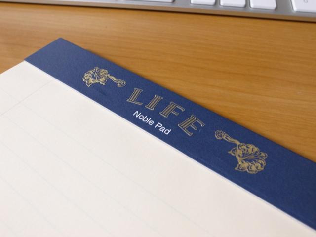 LIFE Noble Pad A5変形の写真