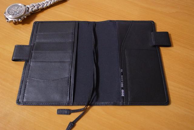 ほぼ日手帳 2010 革カバー TSブラックの写真