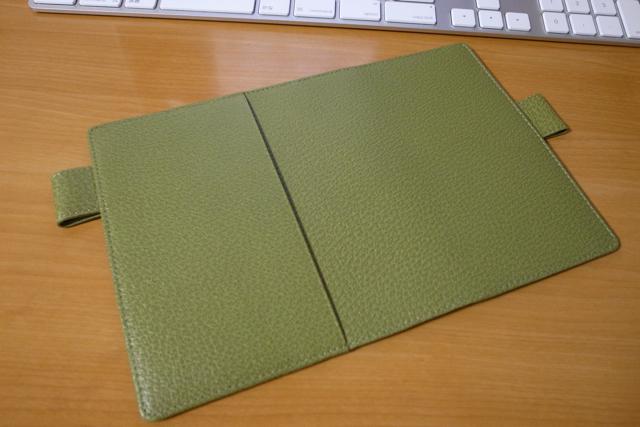 ほぼ日手帳 2010 革カバー オリーブ pigskin の写真