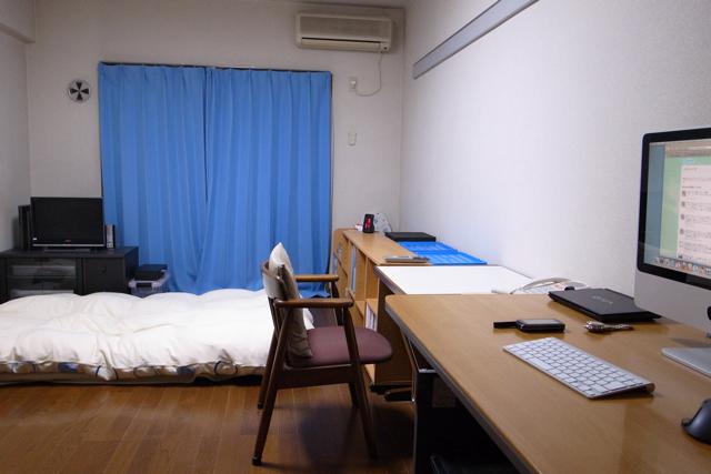 私の部屋の写真 2009.10.20