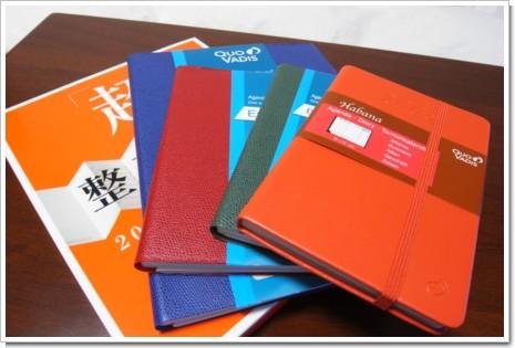 クオバディスと超整理手帳 2008の写真