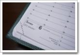 クオバディス-QUOVADIS手帳/ダイアリー2008年新作クラシックビジネス/アンパラの写真