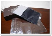 ほぼ日手帳 2008 ツートン・ダークブルー&シルバー カバーの写真