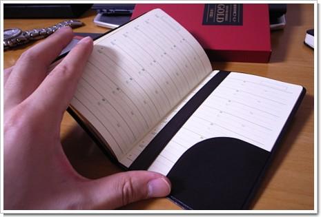 能率手帳ゴールド 2008 の写真