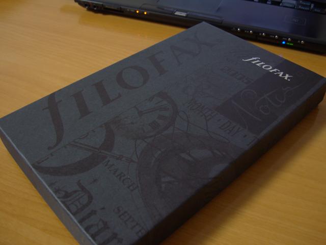 fILOFAX Cross バイブル スリムサイズ システム手帳