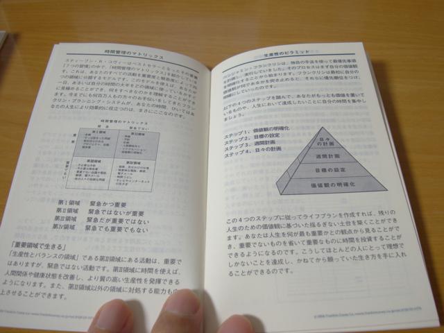 フランクリン・プランナー:ブックレット・プランニング・システムの写真